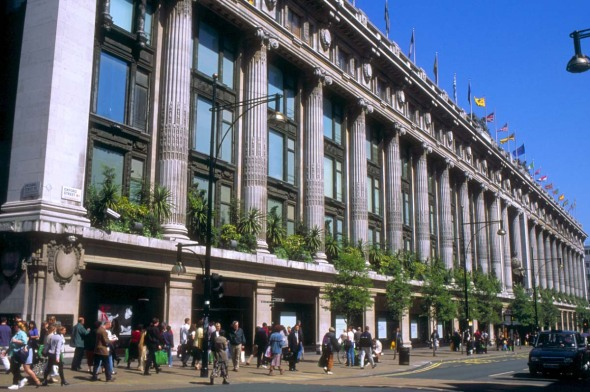 Selfridges -Oxford-Street-London