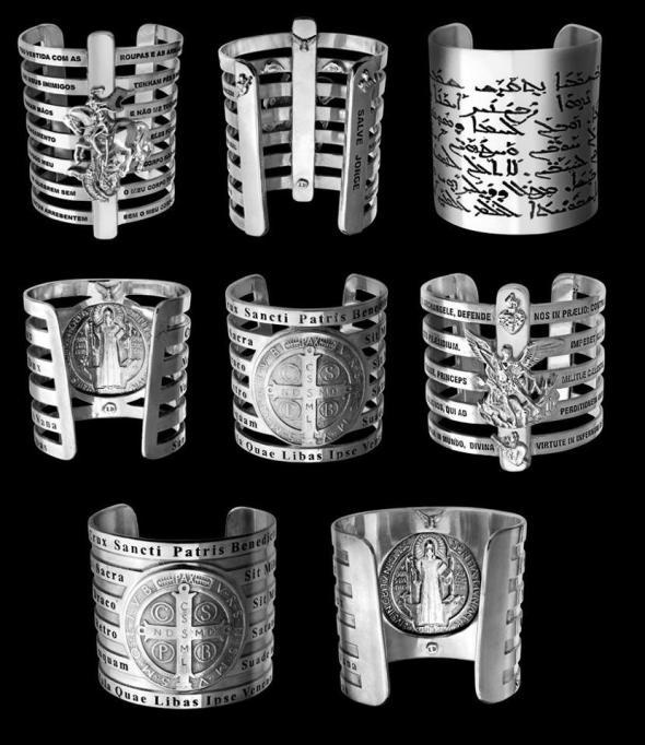 braceletes Lygia Durand