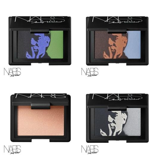 coleção Andy Warhol - Nars
