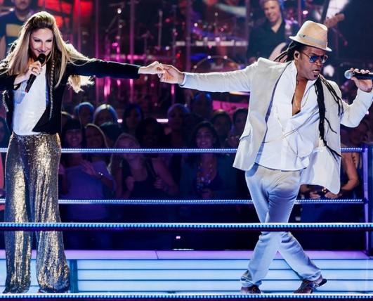 Carlinhos Brown & Claudia Leitte - The Voice Brasil