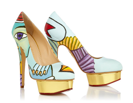 Dolly Cubism - Charlotte Olympia