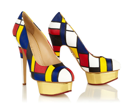 Dolly Neo Plasticism - Charlotte Olympia