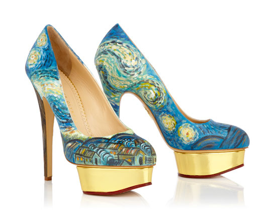 Dolly Post Impressionism - Charlotte Olympia