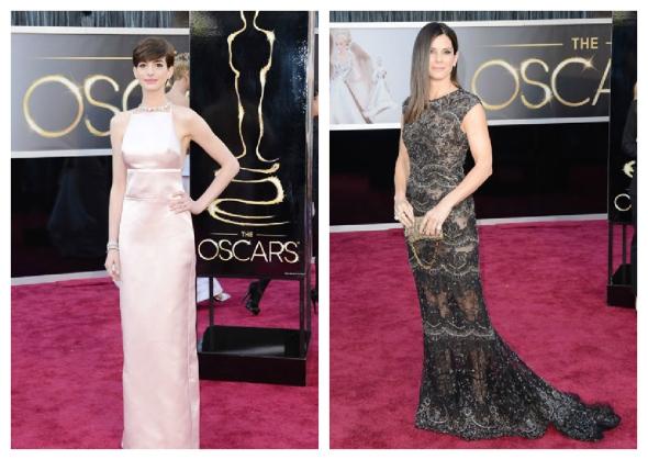 Anne Hathaway / Sandra Bullock