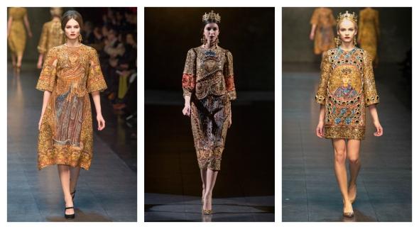 Dolce & Gabbana F/W 2013-2014