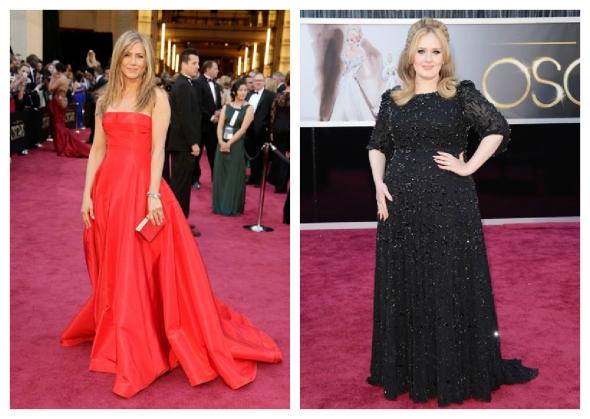 Jennifer Aniston / Adele
