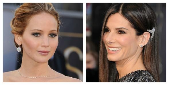 Jennifer Lawrence  / Sandra Bullock