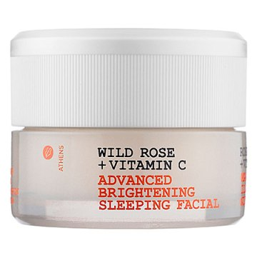 Wild Rose + Vitamin C Advanced Brightening Sleeping Facial @Korres