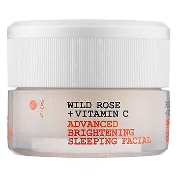 Wild Rose + Vitamin C Advanced Brightening Sleeping Facial @Korres