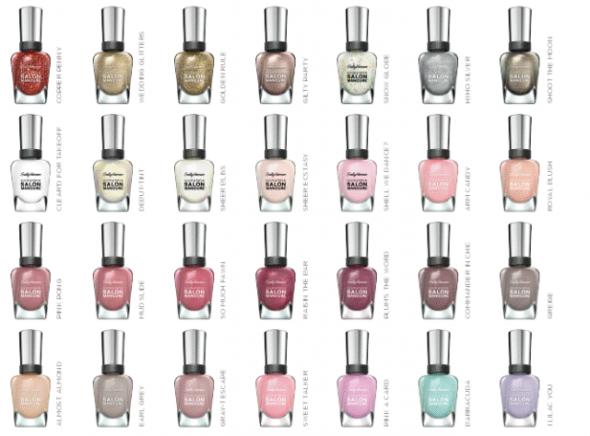 Complete Salon Manicure @Sally Hansen