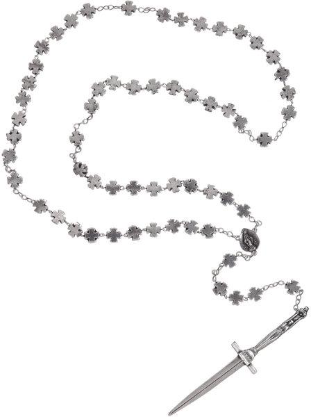 Rosebud Dagger Rosaries @Pamela Love