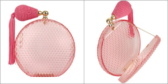 Pink Scent Perfume Clutch @Pandora