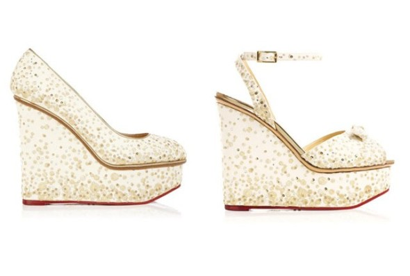 Lovely Bubbly @Charlotte Olympia