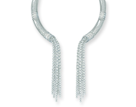 Cascade de Diamants @Boucheron