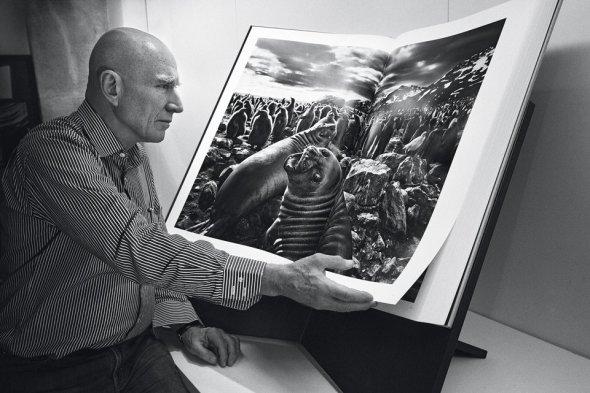 o artista e sua obra - Gênesis @SebastiãoSalgado