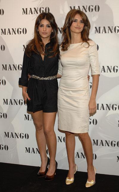 Monica e Penélope Cruz