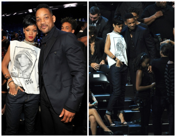 rihanna-willsmith VMA2013